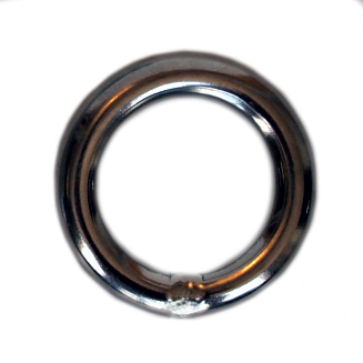 Ring -Stainless Steel 11mm Rap Ring